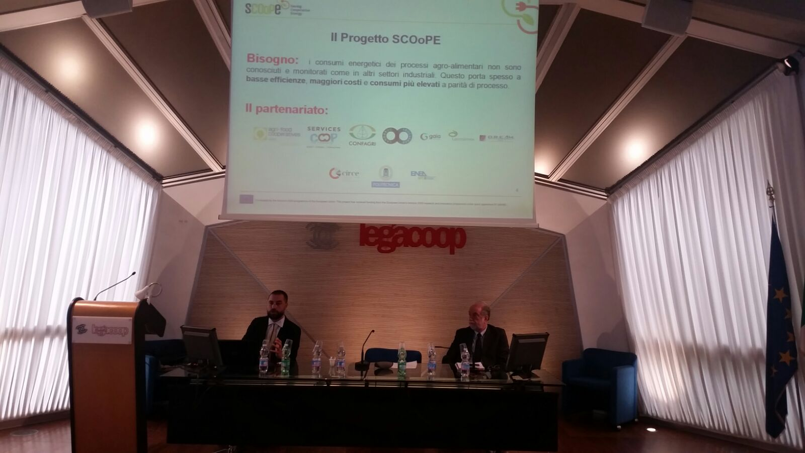 First Italian SCOoPE project brokerage event / Primo Brokerage Event italiano del progetto SCOoPE